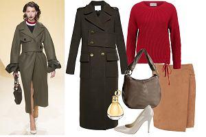 Płaszcz w wojskowym stylu: jesienno-zimowy hit z wybiegów