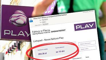 Trwa atak na klientów Play. Ktoś rozsyła fałszywe faktury