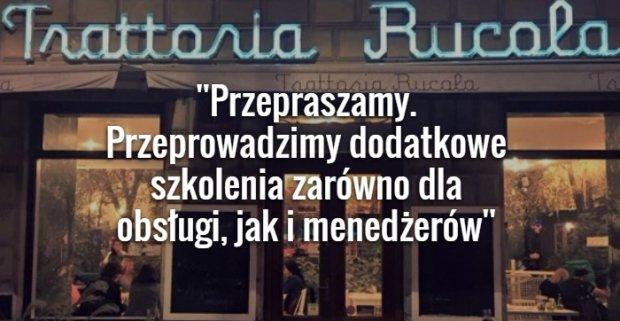 O�wiadczenie w�a�ciciela restauracji