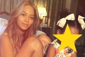 """Beyonce jeszcze nigdy nie pokaza�a tylu zdj�� z c�rk�. Wreszcie dobrze j� wida�. """"Tak s�odka, �e a� trudno to opisa� s�owami"""""""