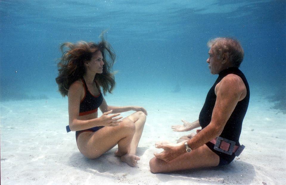 Kadr z filmu 'Człowiek delfin' / Festiwal Millennium Docs Against Gravity
