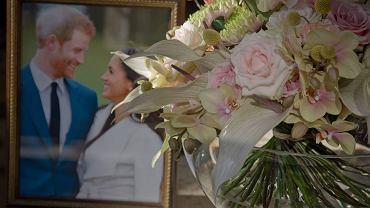Bukiet gratulacyjny z Zamku Książ dla brytyjskiego księcia Harry'ego i Meghan Markle