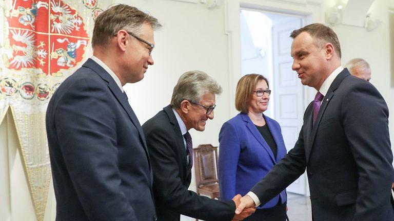 Spotkanie prezydenta z przedstawicielami partii ws. reformy sądownictwa