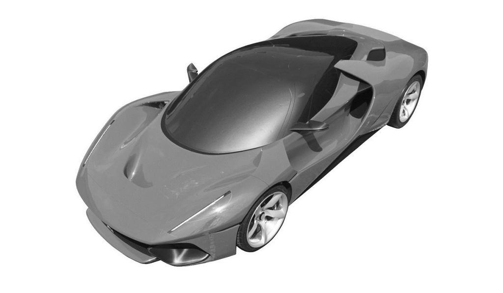Szkic tajemniczego Ferrari LaFerrari