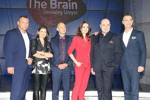 Jury i prowadzący show 'The Brain. Genialny umysł'