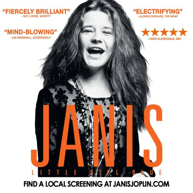 """19 stycznia w wybranych kinach sieci Multikino będzie można przedpremierowo obejrzeć """"Janis: Little Girl Blue""""."""