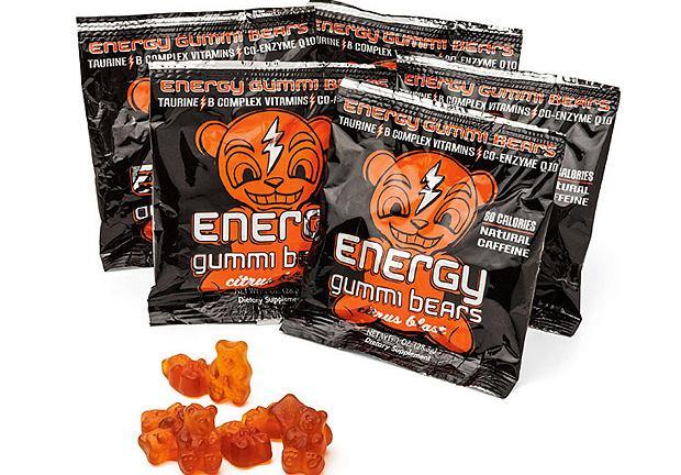 Energy Gummi Bears. Cena: 8 dol.