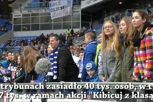 Lech Poznań - Górnik Łęczna 0:0 na 95. urodziny Kolejorza