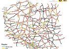 Nowa mapa ryzyka na polskich drogach