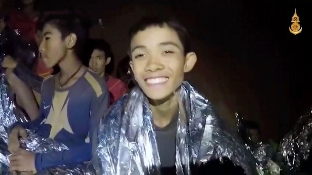 Tajlandia. Chłopcy w jaskini