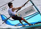 Rio 2016. Myszka nie zdołał obronić trzeciej pozycji w regatach windsurfingowych w klasie RS:X [PODSUMOWANIE NIEDZIELI]