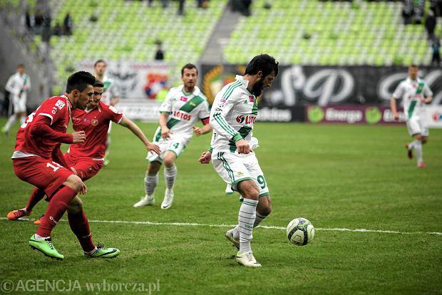 Lechia Gda�sk - Widzew ��d� 2:0. Zaur Sadajew