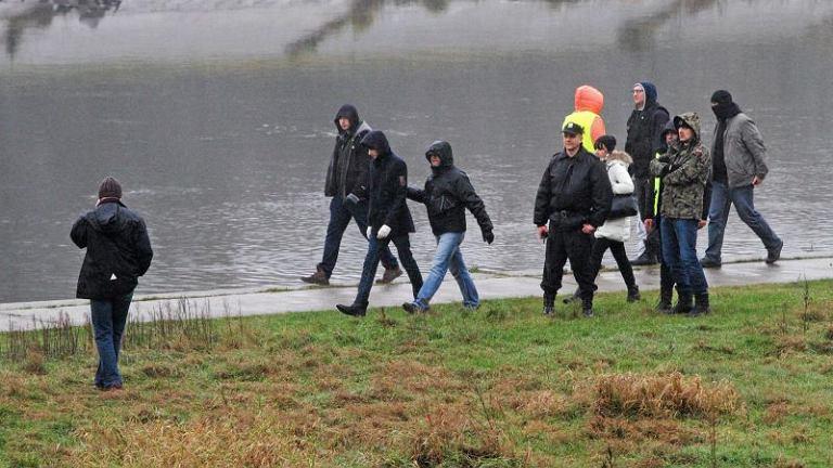 Wizja lokalna w związku z zaginięciem Ewy Tylman w Poznaniu