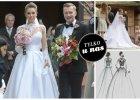 Nie spodobała Wam się suknia ślubna żony Kuby Wesołowskiego, Agnieszki Szczurek. Dlaczego? [WASZE KOMENTARZE]