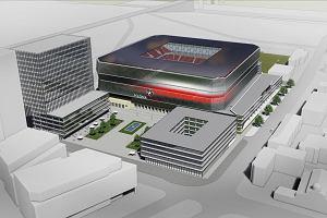 Stadion Polonii wśród biurowców. Czy tak będą wyglądać okolice Konwiktorskiej?