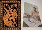 12 prac W�adimira Putina. Wystawa obraz�w o prezydencie Herkulesie [ZDJ�CIA]