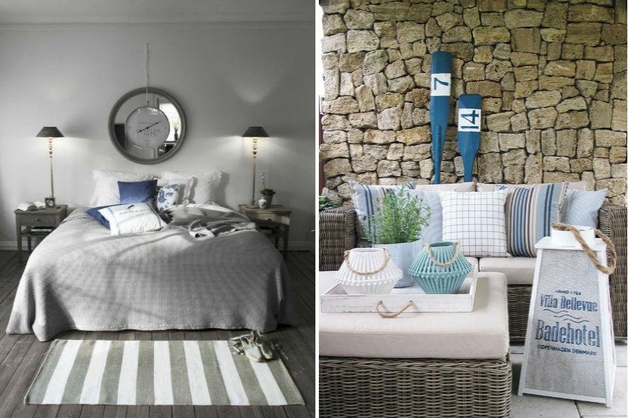 Letnie inspiracje: mieszkanie w stylu marynistycznym