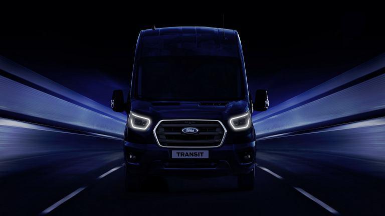 Ford Transit hybryda (teaser)