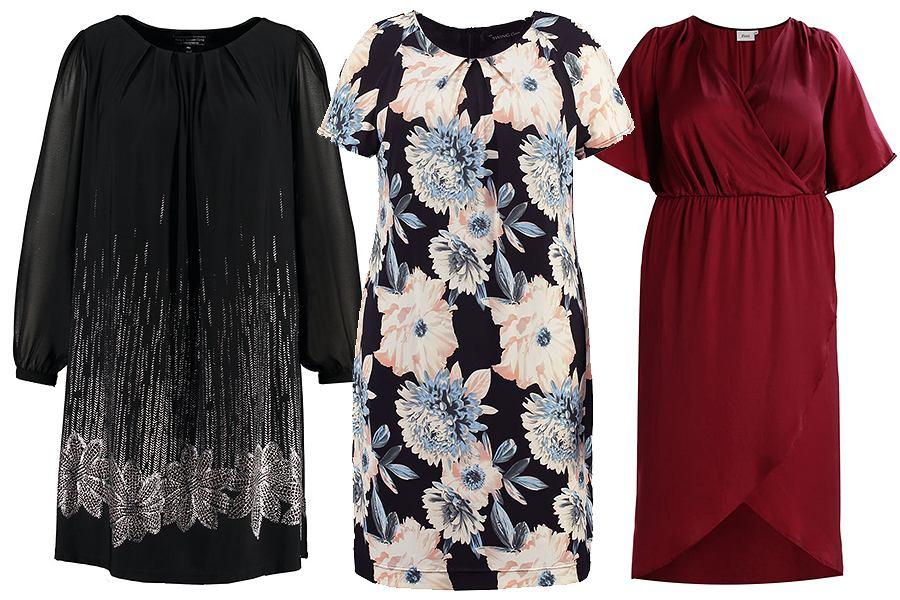 Sukienki maskujące brzuch