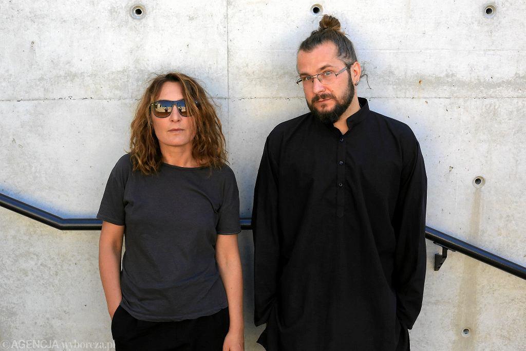 Maja Kleczewska i Łukasz Chotkowski / JACEK MARCZEWSKI