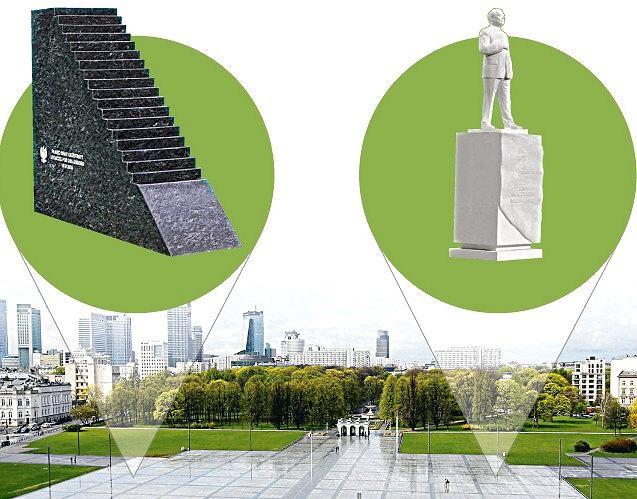 Pomniki smoleńskie mają stanąć na placu Piłsudskiego