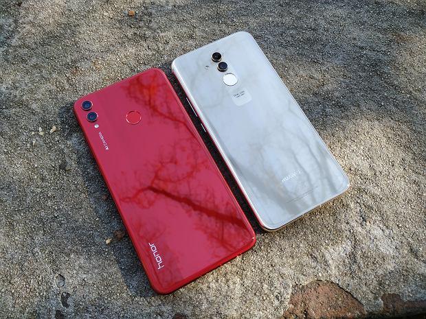 Honor 8X i Huawei Mate 20 lite