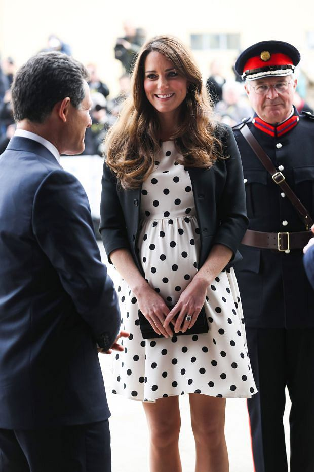 *** No UK Rights Until 28 Days from Picture Shot Date *** Photo Must Be Credited ?Alpha Press 073074 26/04/2013 Kate Duchess of Cambridge Catherine Katherine Middleton at the Warner Bros Studios Inauguration Leavesden Hertfordshire