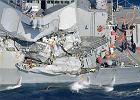 Siedmiu żołnierzy US Navy uznano za zaginionych