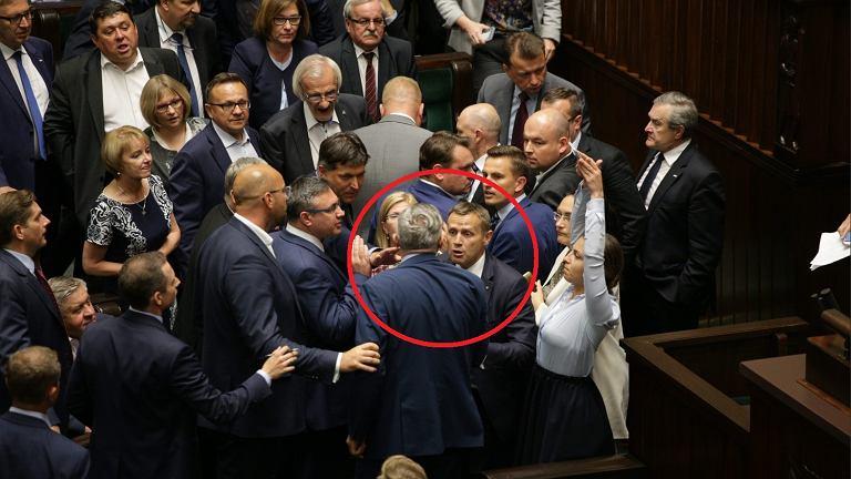 Awantura na posiedzeniu Sejmu w lipcu 2017 roku