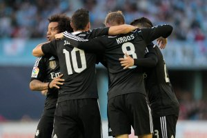 Primera Division. Celta Vigo - Real Madryt 2:4, Javier Hernandez zn�w b�yszcza�