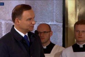 Obchody 1050-lecia chrztu Polski. Prezydent Duda: Pokolenia nigdy nie dały wyprzeć sobie polskości