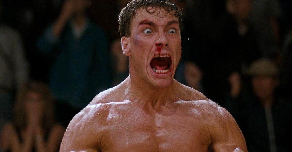 Krwawy sport, reż. Newt Arnold, 1988, kadr z filmu, YouTube / kadr z filmu, YouTube