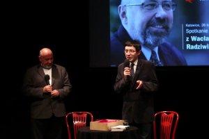 Spotkanie z Wacławem Radziwinowiczem w Teatrze Korez