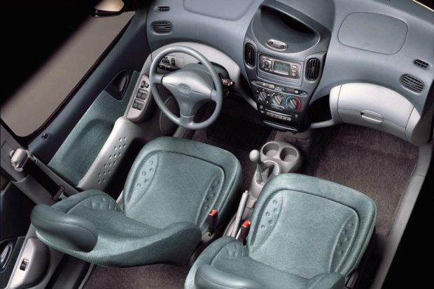 Toyota Yaris - wnętrze