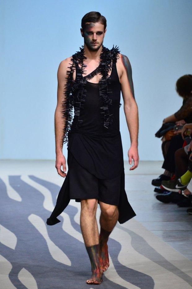 Lizbona/Portugalia 12.10.2014, Plan Top Model S04E12,N/z.  Moda Lisboa - Lisboa Fashion Week 2014, Mateusz Jarzębiak, Góral