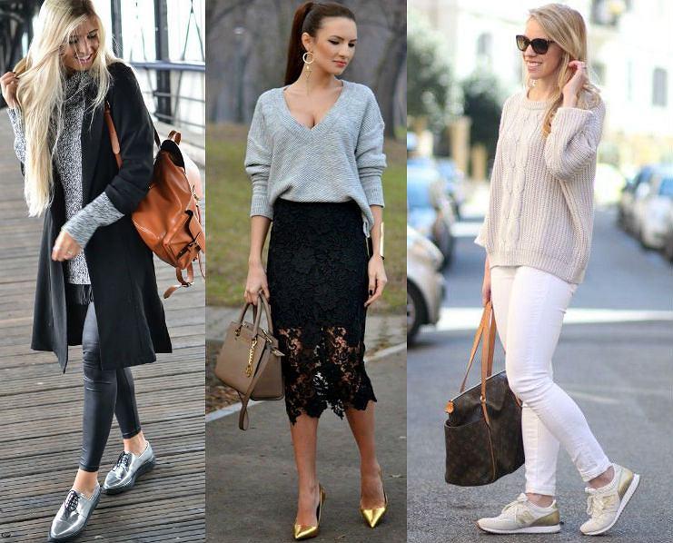 2c428d717ad08 Buty z połyskiem do codziennych stylizacji - z czym je nosić, żeby nie  przesadzić?