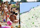 Wakacje w Polsce? Na tej mapie sprawdzisz, gdzie możesz bez obaw wejść do wody