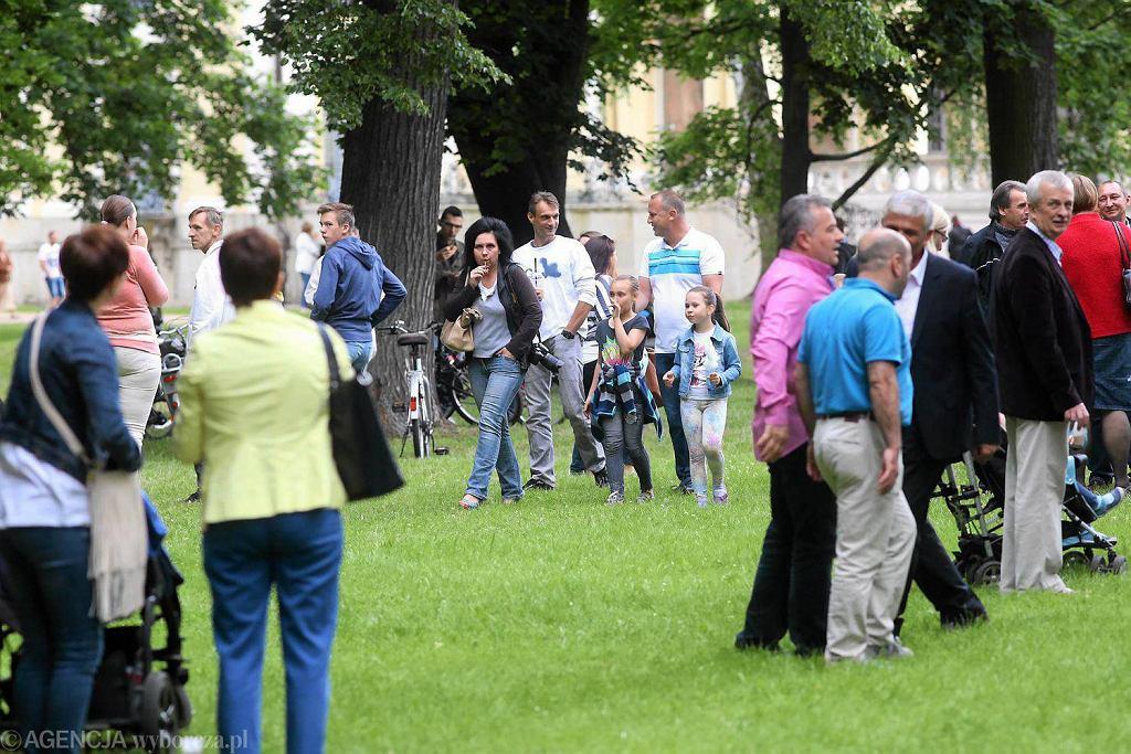 Grill dla mieszkańców Białegostoku w pałacowych ogrodach