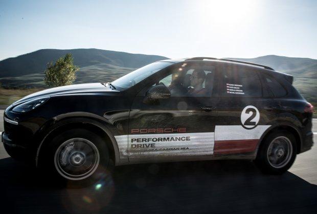Porsche Performance Drive | Cayenne S na obrze�ach Europy