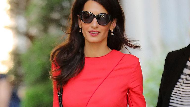 Amal Clooney - najbardziej stylowa prawniczka na świecie?