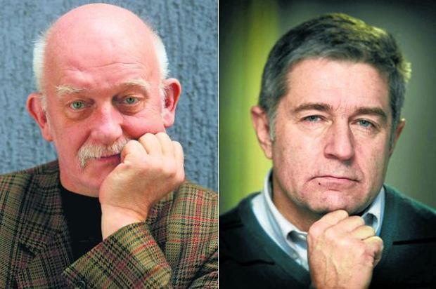 Od lewej: Miros�aw Chojecki, W�adys�aw Frasyniuk