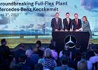 Na Węgrzech budują drugą fabrykę aut Mercedesa. Najnowocześniejszą na świecie