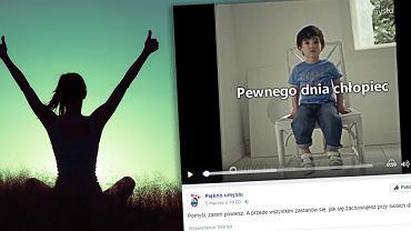 Ten filmik obejrzało ponad 600 tysięcy internautów.