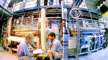 Eksperyment Athena w CERN, w którym fizycy produkowali antywodór - najlżejszy pierwiastek antymaterii.
