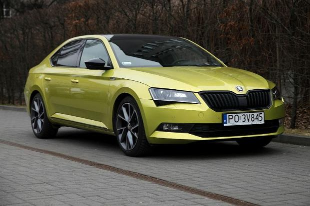 skoda superb sportline test spalania. Black Bedroom Furniture Sets. Home Design Ideas