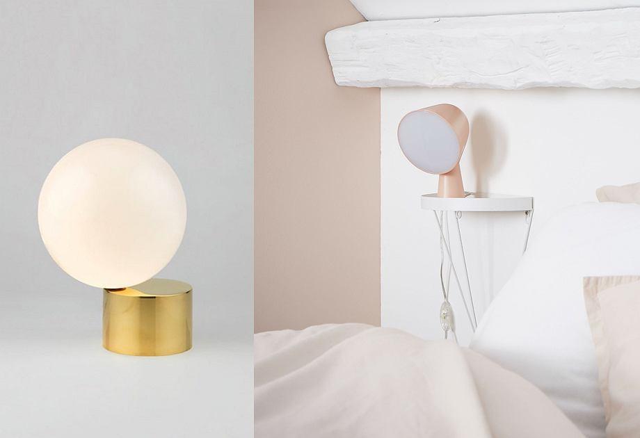 Minimalistyczne lampy stołowe