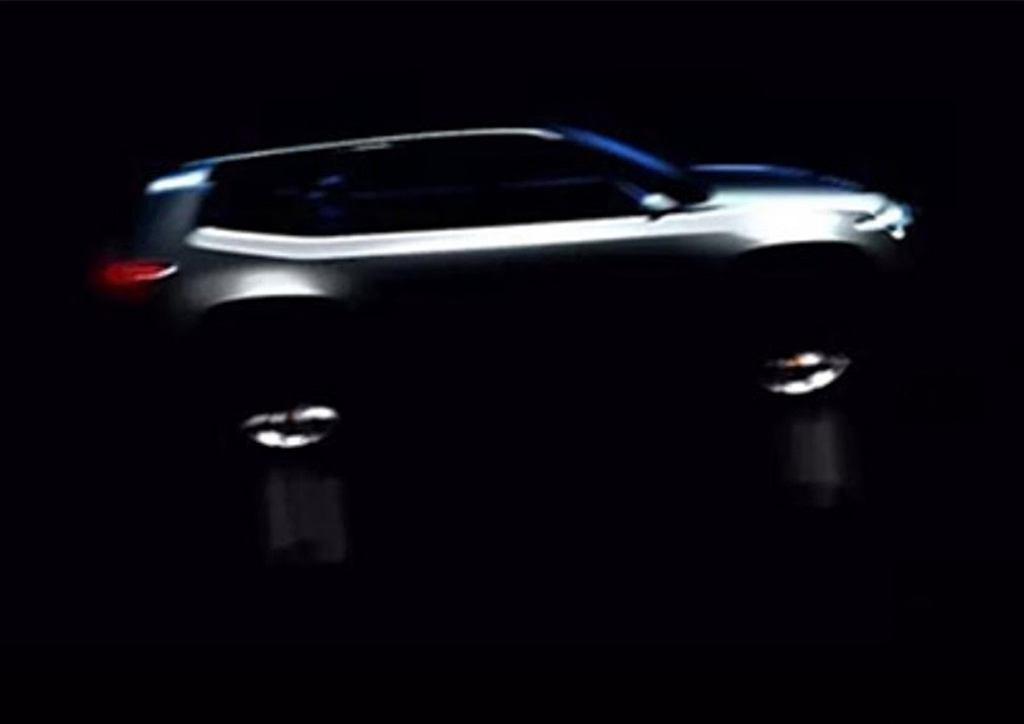 Jeep Concept EV Teaser