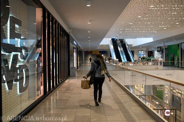 Galeria Warmińska w Olsztynie. Niedziela po wejściu w życie zakazu handlu