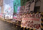 Protest we wrocławskim Teatrze Polskim. Nie chcą nowego dyrektora [ZDJĘCIA]