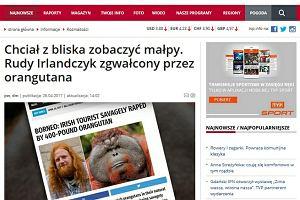 TVP Info podała informację za satyrycznym portalem. Jak mogli uwierzyć, że to prawda?